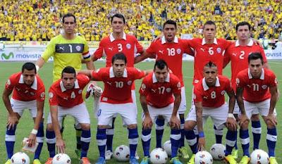 Daftar Pemain Timnas Chile