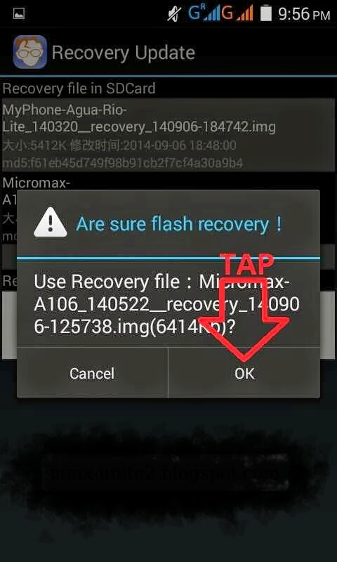 Custom Recovery(CWM) On Micromax Unite2 Without PC