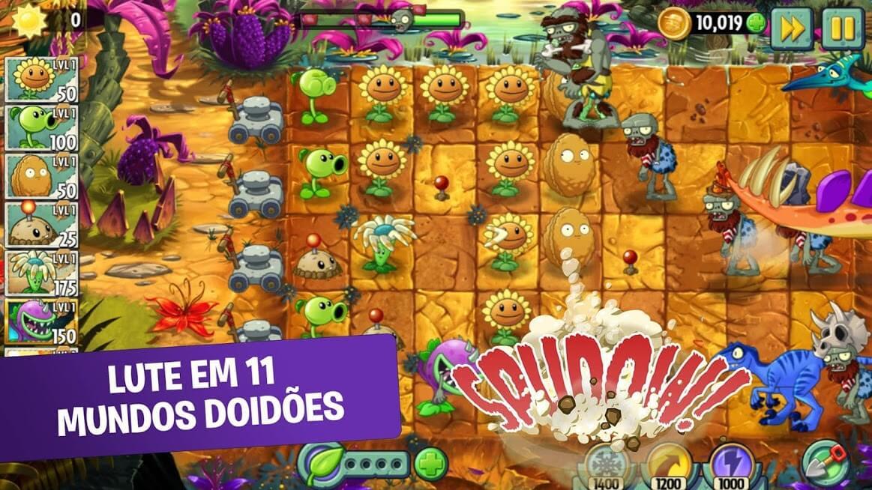 Plants vs. Zombies 2 APK MOD Diamantes Infinitos 2021 v 8.9.1