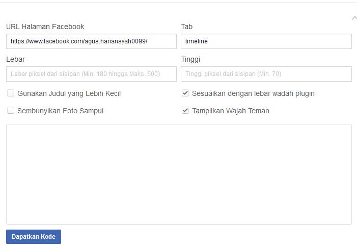 like box halaman facebook
