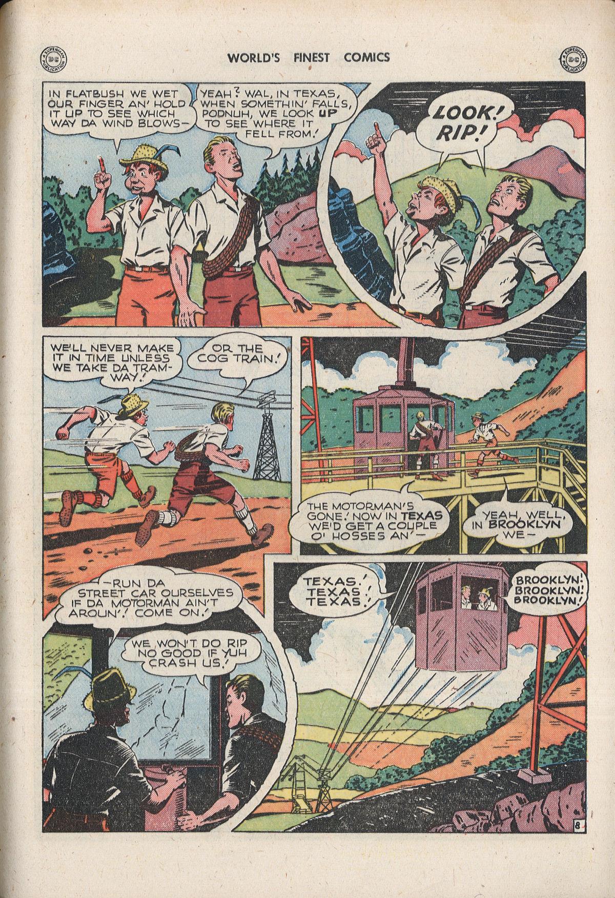 Read online World's Finest Comics comic -  Issue #33 - 55