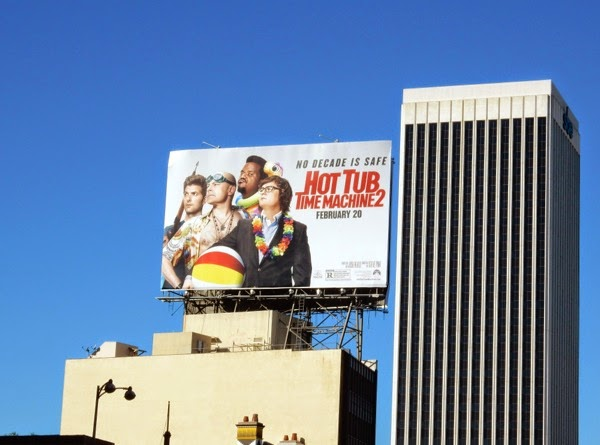 Hot Tub Time Machine 2 billboard