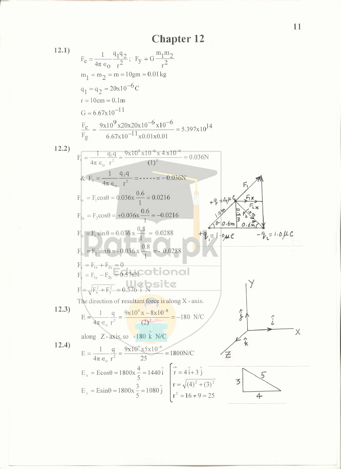 2nd year physics notes all chapter pdf