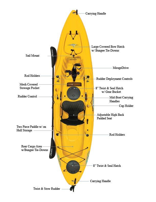 hobie kayak parts