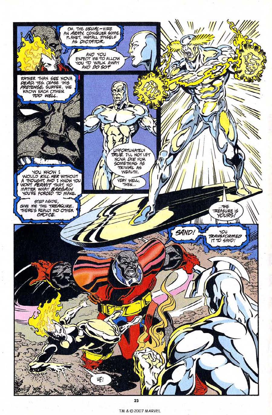 Read online Silver Surfer (1987) comic -  Issue #97 - 25