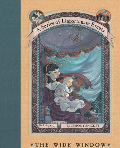 Book Review: The Wide Window by Lemony Snicket