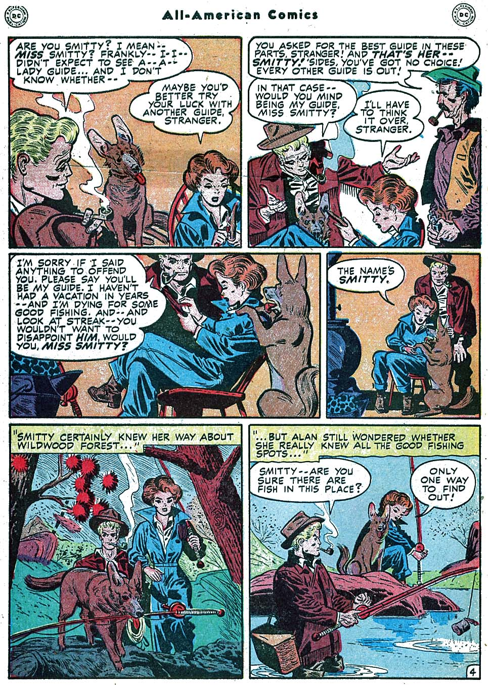 Read online All-American Comics (1939) comic -  Issue #100 - 6