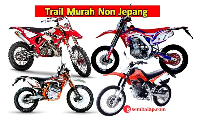 alternatif trail murah