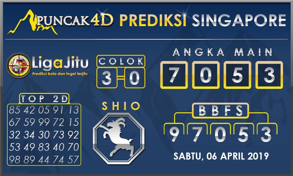 PREDIKSI TOGEL SINGAPORE PUNCAK4D 06 APRIL
