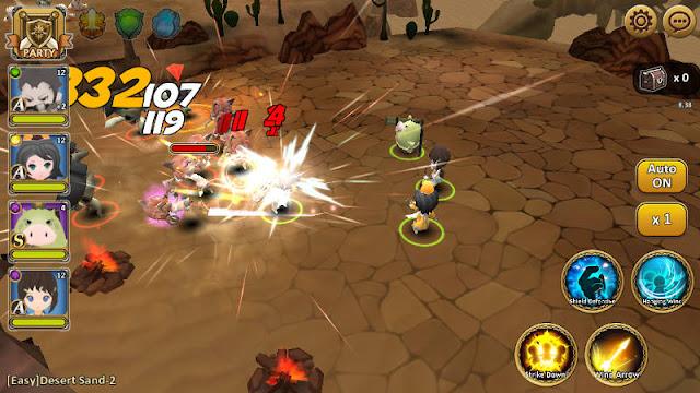 Heaven Knights Apk Mod v1.0.0.3 (Enemy Low Damage/1 HP)