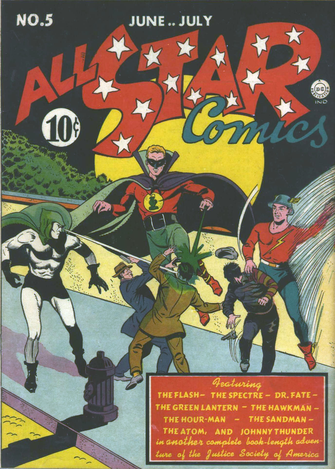 Read online All-Star Comics comic -  Issue #5 - 1