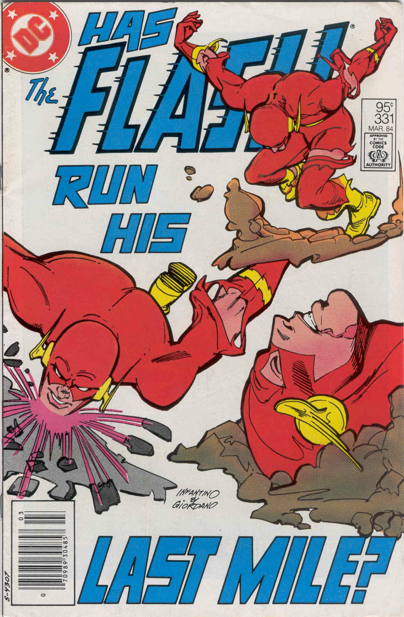 The Flash (1959) 331 Page 1