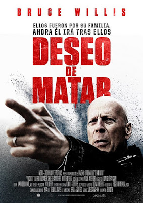 Death Wish 2018 DVD R1 NTSC Latino