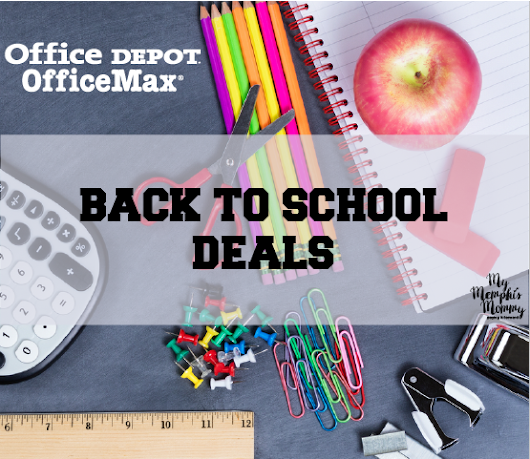 Office Depot & OfficeMax Back to School Deals 7/16-7/22