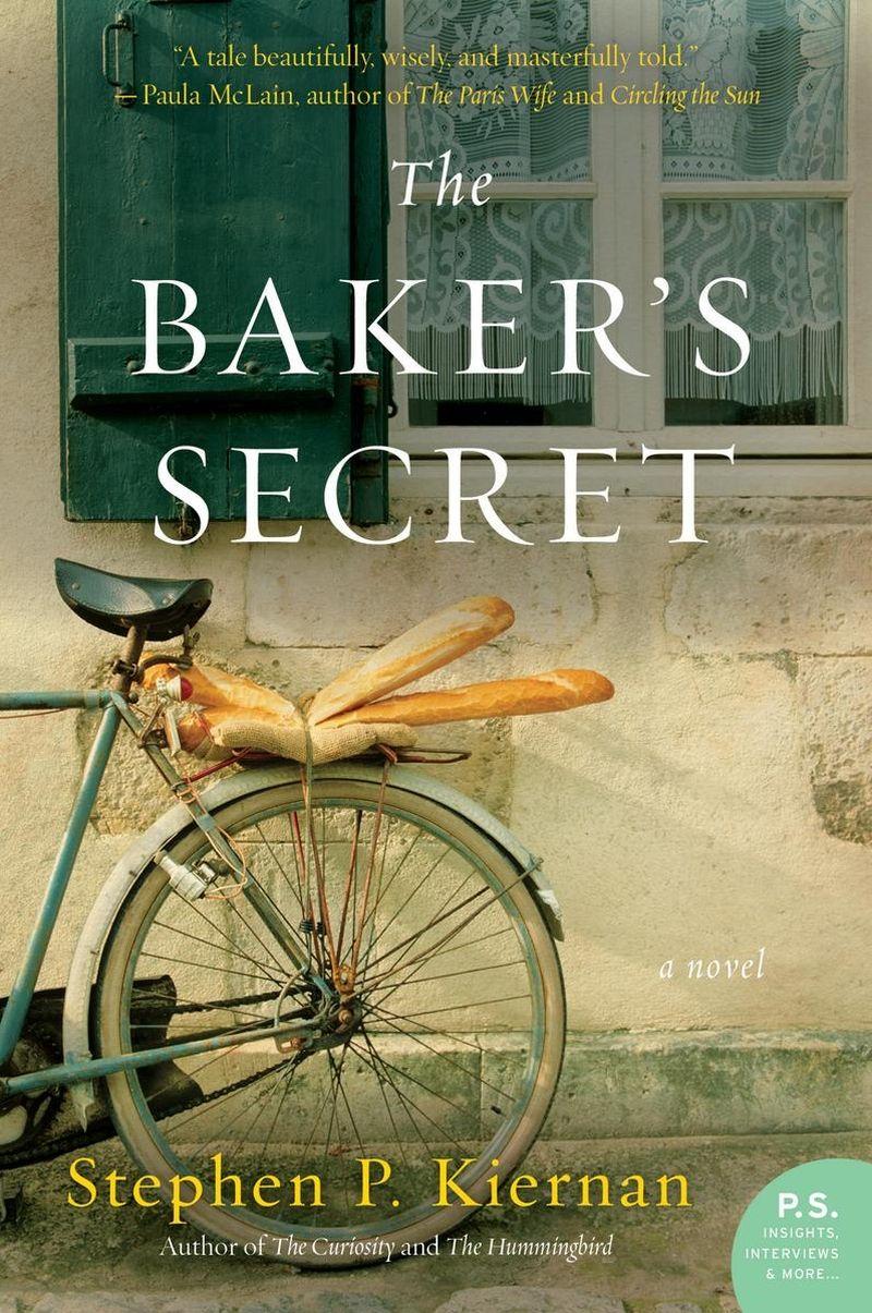 25 Books to Read - Summer 2018 - The Baker's Secret by Stephen P. Kiernan