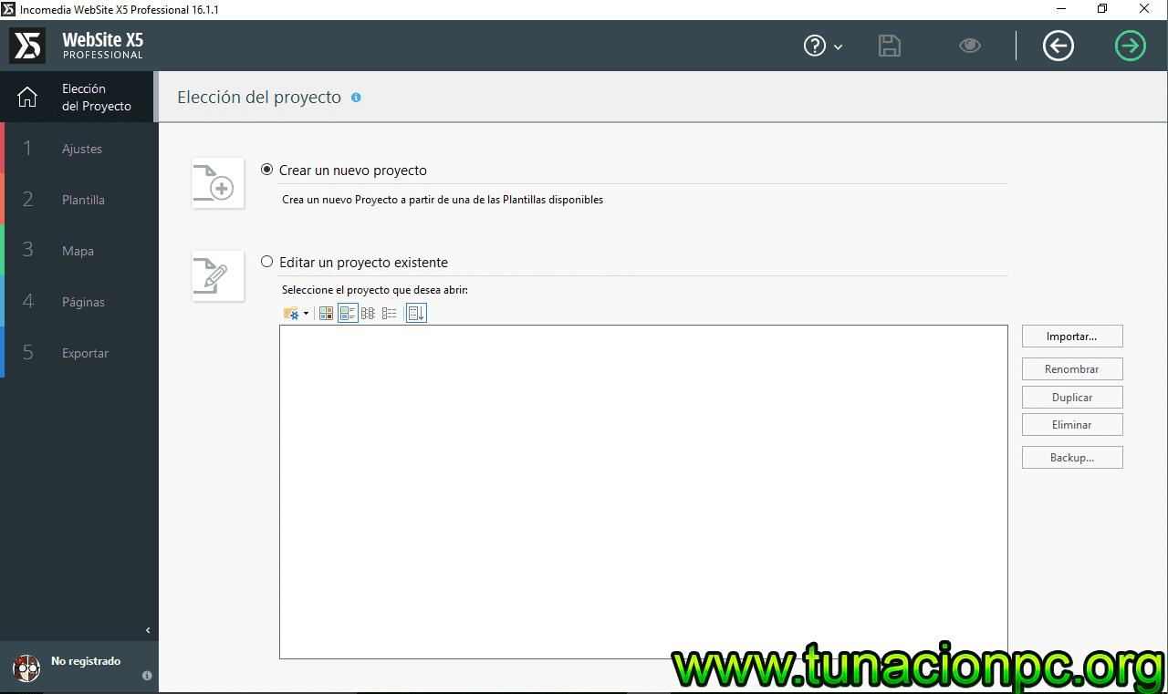 Incomedia WebSite X5 Professional con Licencia