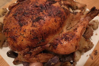 butter roast chicken recipe