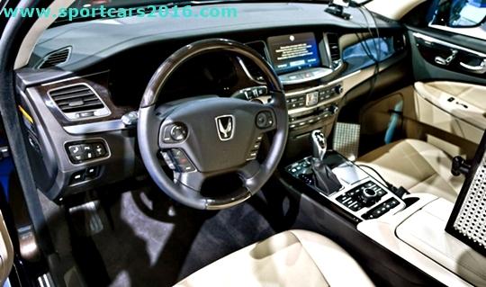 2017 Hyundai Equus Interior