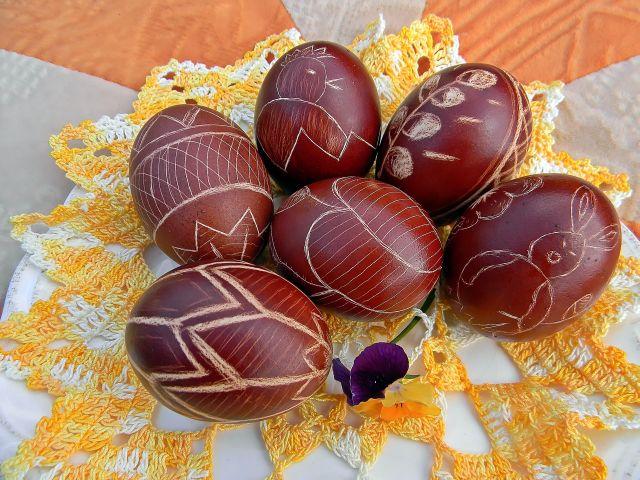 jaja, święta, Wielkanoc, zwyczaje