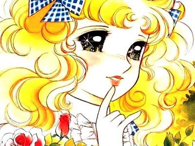 Imagen de la cara de Candy y ojos brillantes