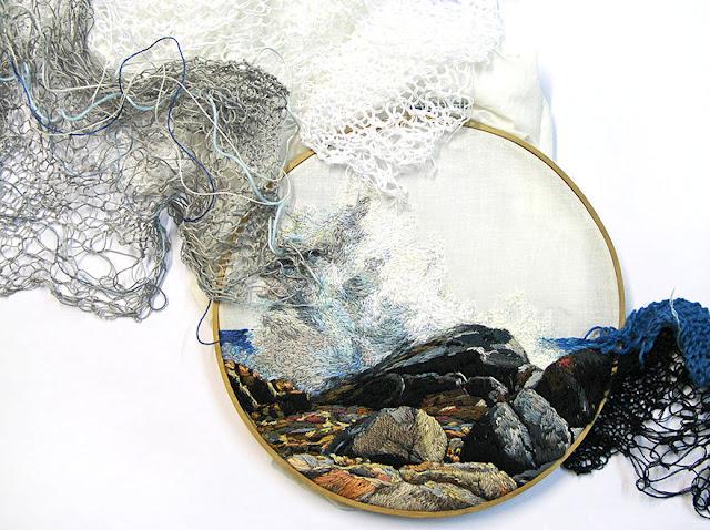 """Inspiracje: Niesamowita metoda haftu """"sztuka wyszywania"""""""