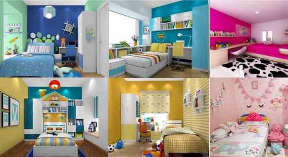 warna ruangan kamar tidur rumah minimalis type 36