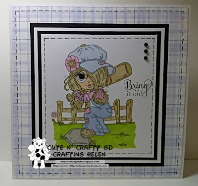 GDT Card For The Cute N Crafty Mommy Challenge