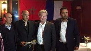 Le maire de porto vecchio appelle le polisario à retourner au Maroc.