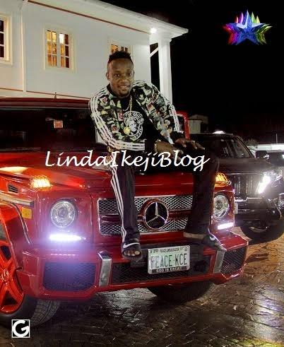 kceegwagonbirthday+present+lindaikejiblog5 Kcee Gets 2013 Benz G Wagon From Brother As Birthday Gift [See Photos]