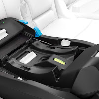Clek Liing car seat installation, this car seat is stroller ready