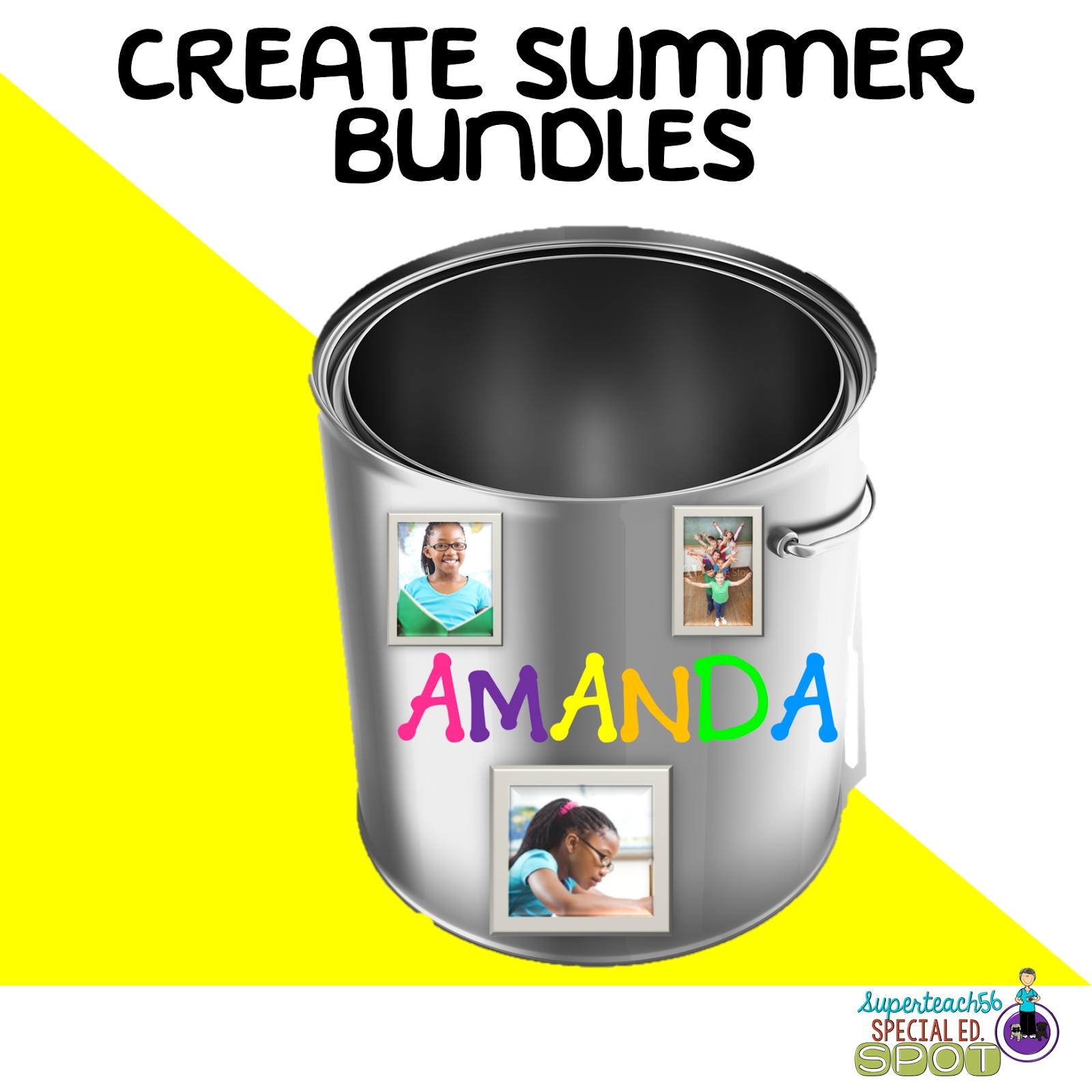 summer surprise bundles superteach s special ed spot