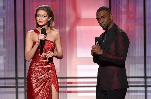 Gigi Hadid & Jay Pharoah, co-animateurs des American Music Awards 2016