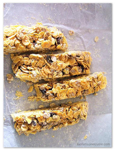 barrette ai cereali senza cottura e zucchero
