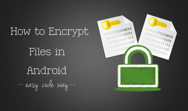 Encrypt files in Android