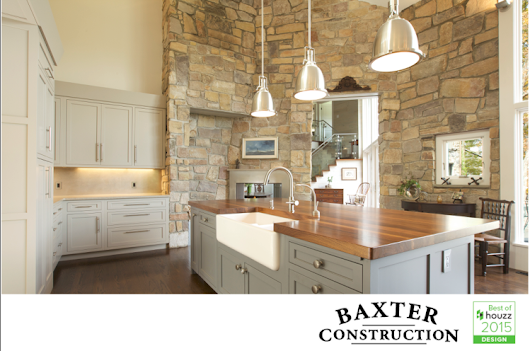 Baxter Construction wins prestigious Best of Houzz 2015 award in design!