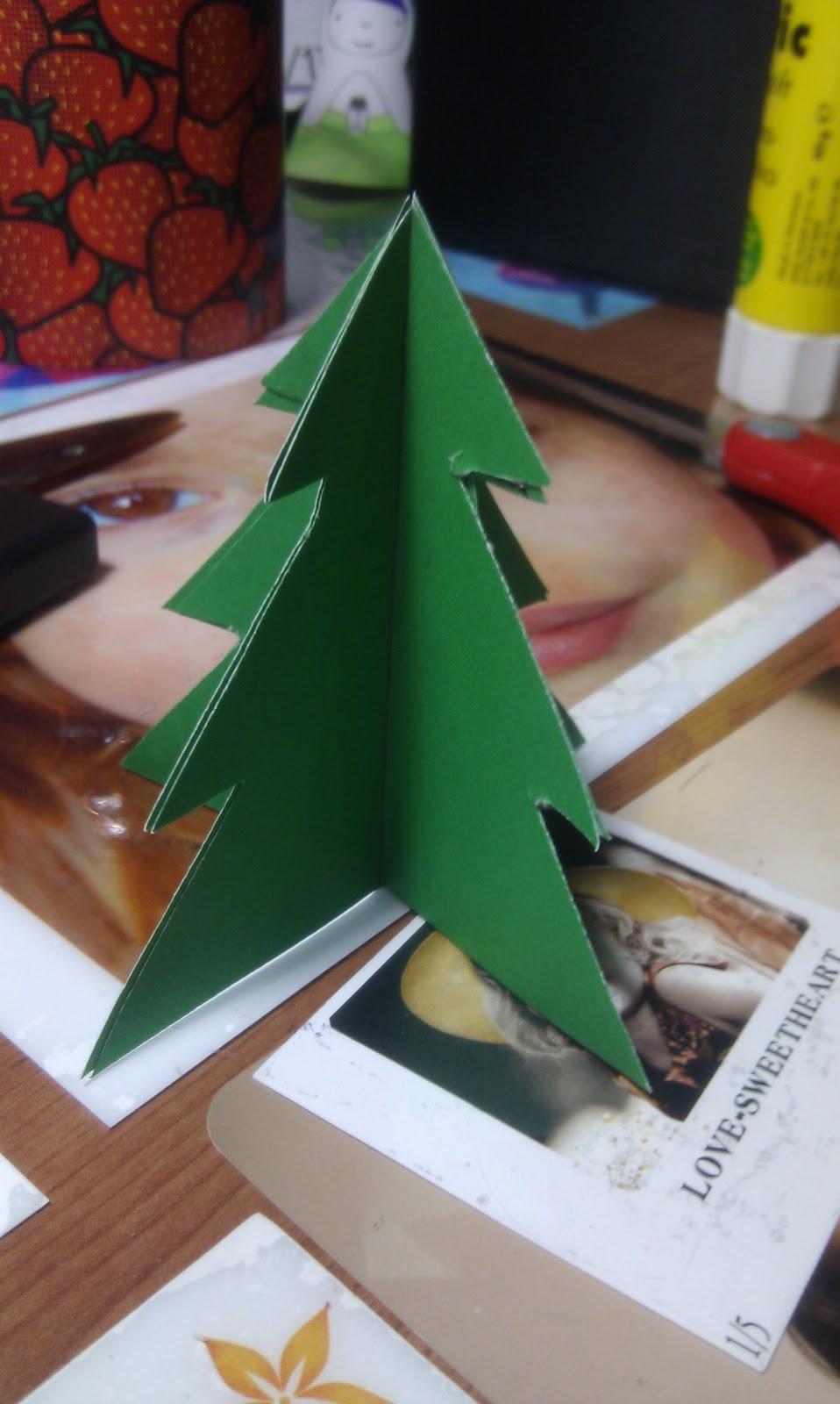 Karton ve İple Çam Ağacı Yapımı