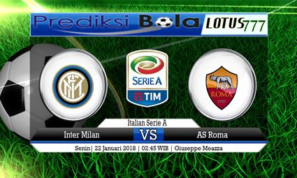 PREDIKSI SKOR Inter Milan vs AS Roma 22 Januari 2018