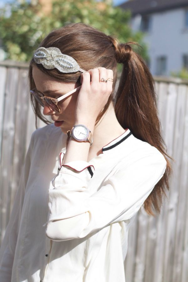 How to style a headband