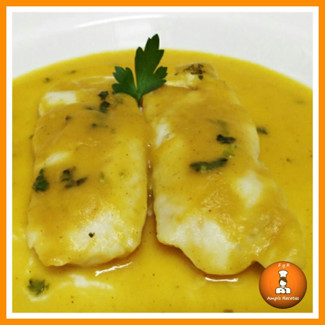Merluza En Salsa De Calabaza Y Curry F Cil Y Rico Ampis