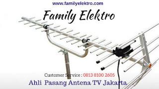 Family Elektro ~ Toko Pasang Antena TV Selong Jakarta Selatan