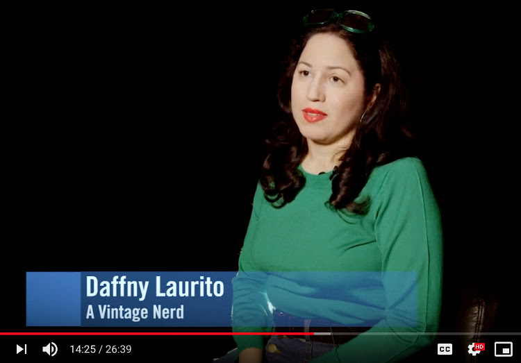A Vintage Nerd, CUNY TV, Disability and Fashion, Vintage Blog, NY Blogger, A Vintage Nerd on TV