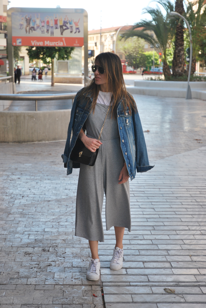 Culotte and denim