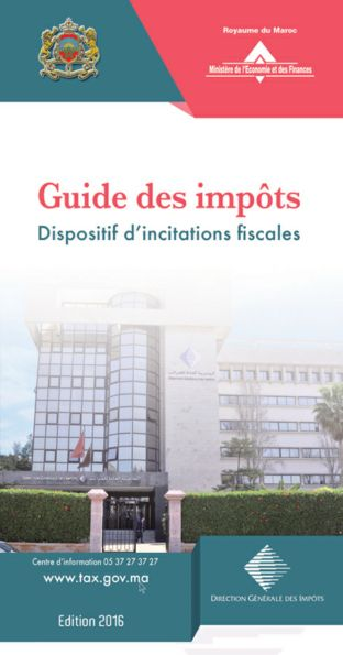 ss - Dispositif d'incitations fiscales au Maroc