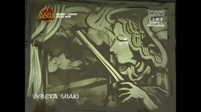Lukisan Pasir 3 Tahun yang Lalu, Menggambarkan Kehidupan JuPe jadi Kenyataan