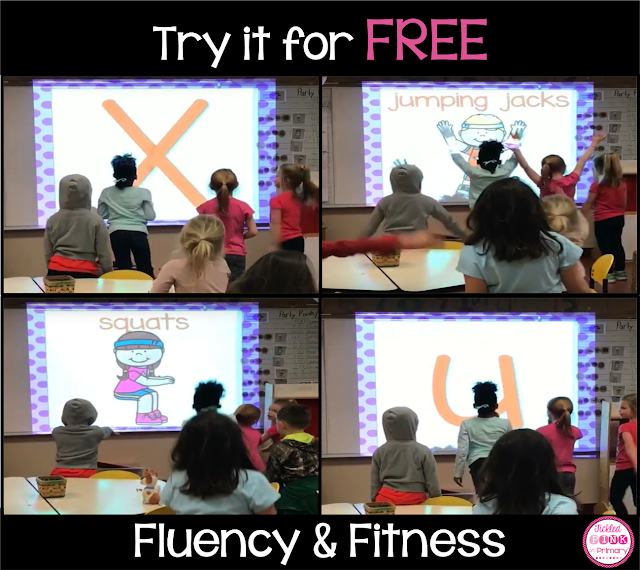Fluency & Fitness helps students get out of their seats to move while still learning! Here are 5 ways to bring this learning approach into your classroom.