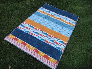 http://ablueskykindoflife.blogspot.com/2013/07/marine-quilt-finished.html