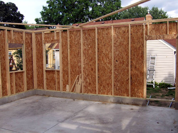 Perhutani plywood for Exterior wall sheeting