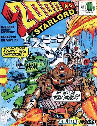 2000 AD Prog 114, Ro-Busters