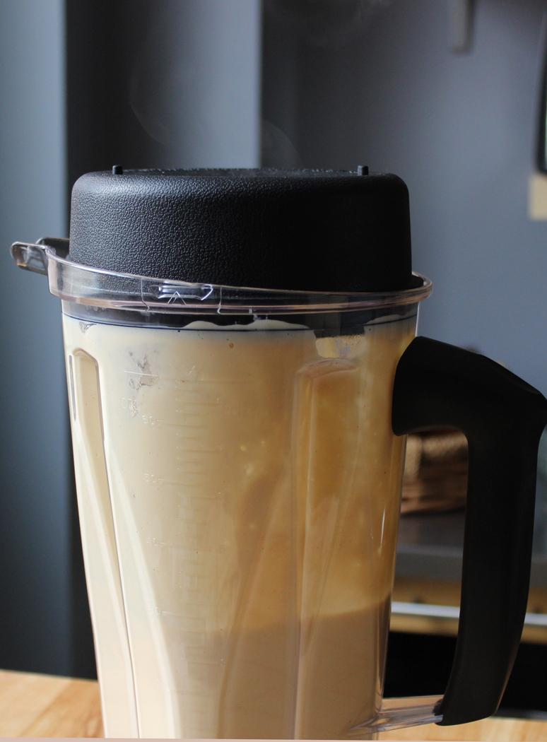Cauliflower Soup in Blender Jug