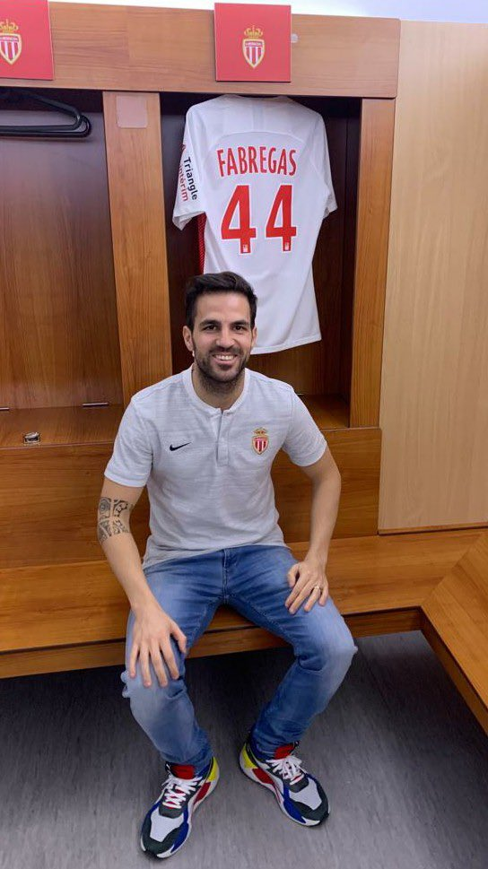 Monaco New Signing Fabregas Pays Tribute To Chelsea And Their Supporters